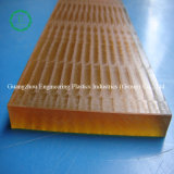 Buena hoja ambarina de la fuente de alimentación del plástico de la resistencia química