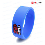 Etiqueta sin contacto de la venda de reloj de la pulsera del Wristband del silicón de la viruta multi RFID