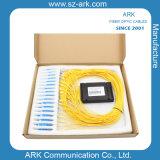 PLC di 1X32 Fiber Optic Splitter