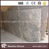 磨かれた中国Juparanaおよび中国Paradisoの花こう岩の平板
