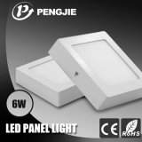 280mA el panel ligero del aluminio 6W LED para el panel de interior del LED