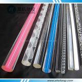 Varas de plexiglás de acrílico de diferentes formas com SGS