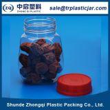 Fiole en plastique pour Beaning vert Packaiging