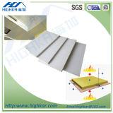 Tarjeta acústica del silicato del calcio del aislante sano
