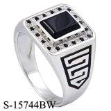 Hoge Fijne Juwelen 925 van het Eind Echte Zilveren Ring