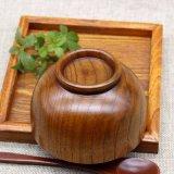 중국제에서 나무로 되는 식기 도매 자연적인 나무로 되는 사발