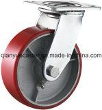 roulette résistante d'unité centrale de noyau de fer de fonte de pouce 5X2