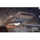 Separatore magnetico del nastro trasportatore per il trattamento dei ferri da cemento