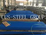 Material para techos del granero del material de construcción/hoja de acero revestida del material para techos del color
