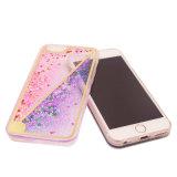 Het dubbele Geval van de Telefoon van het Drijfzand van de Sterren van de Kleur voor iPhone 6 (xsdd-058)