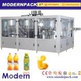 4 en 1 máquina de rellenar de la pulpa de la bebida/embotelladora