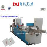 Máquina plegable realzada impresión automática del producto de la servilleta del tejido de la servilleta de papel