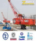 Örtlich festgelegter hydraulischer Marine-/Kanal-/Dock-/Lieferungs-Kran für Verkaufs-China-Lieferanten