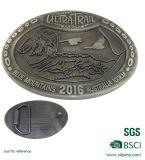 Doppelte antike Münze der Seiten-3D, geprägte kundenspezifische Silbermünze