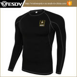 Ropa interior termal Long-Sleeved del deporte al por mayor del entrenamiento