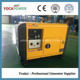 5개 kVA 단일 위상 4 치기 디젤 엔진 생성 발전을%s 가진 작은 디젤 엔진 힘 전기 휴대용 발전기