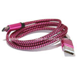3.1 type tressé en nylon câble de données d'USB de C