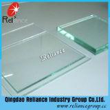 Vidrio de flotador del claro de la alta calidad 2-19m m de la confianza para la puerta de la ventana