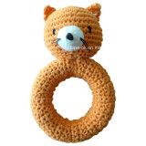 La mano del bebé del ganchillo de felpa y rellenas muñeca de juguete juguetes para la dentición