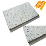 Sandy perforée Texture Ceiling Mineral Fiber Board (certificat de la CE)