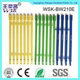 Blau-Qualitäts-Plastikstreifen der China-Plastikdichtungs-Fabrik-Fertigung-21cm