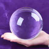 明確なCrystal Glass Ball From 30mmに1000mm