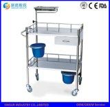 De Leverancier van China op het Medische Karretje van de Noodsituatie van het Ziekenhuis van het Roestvrij staal