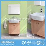 England heißer verkaufenMDF breiten frei stehendes Eckbadezimmer-Eitelkeits-Gerät aus (BF135V)