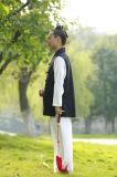 Wudang Kongfu Taichiの高級な亜麻の人のスポーツの居心地のよいリラックスしたコート