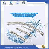 Tubulação do metal flexível com junções