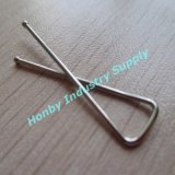 Hot Sale Fashion Stainless Steel X Shape Shirt Clip for Packing