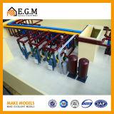 Bildschirmanzeige-mechanistische vorbildliche Ausstellung-Modelle/Modell/industrielle Modelle/neues Energie-Modell