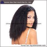 Perucas naturais da parte dianteira do laço da peruca da linha fina do cabelo humano