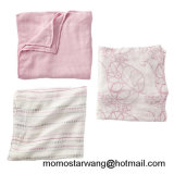 100% coton mousseline bébé Swaddle Blanket Nursing Cover with High quality