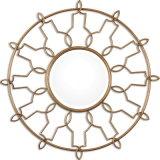 Il foglio di oro caldo dell'oggetto d'antiquariato del giro di vendite ha rifinito lo specchio del blocco per grafici del metallo forgiato mano