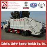 8トンのガーベージのコンパクターのトラックのDongfengのコンパクターのごみ収集車の自動ガーベージの圧縮