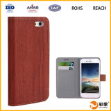 Cover móvel Dustproof Customize Leather Phone Caso para iPhone6s