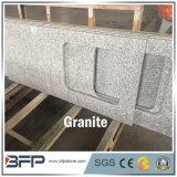 Bancada de pedra natural da cozinha do granito com superfície Polished