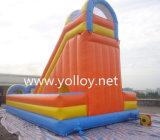 膨脹可能な膨脹可能な弾力があるスライドはスライドのおもちゃ、子供のための障害商業スライドを乾燥する