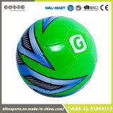 Balón de fútbol al por mayor del verde de la calidad del emparejamiento