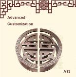 Personalización avanzada del acero inoxidable de la puerta Manija