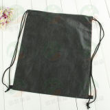 Kundenspezifisches Polyester 210d Drawstring Bag mit Log M.Y.D-011