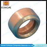Juntas de cobre Titanium bimetálicas revestidas conectadas con el tubo de los cambiadores de calor