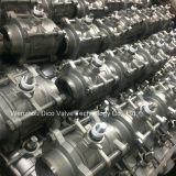 Q61f válvula de acero inoxidable de soldadura 3PC Bola con Ce