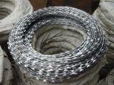 安いQ195は電流を通された有刺鉄線を熱浸した
