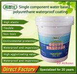 Einzelne wasserlösliche Polyurethan-Teilbeschichtung