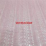 Nuovo tessuto del merletto del cotone di disegno per i vestiti (6439)