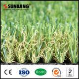 alfombra sintetizada artificial de la hierba de la mirada natural de 30m m con la prueba incombustible