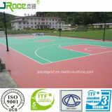 Einfach zu Maintain Silicon PU Sports Flooring Materials