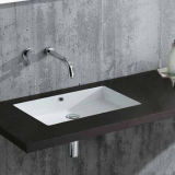 Viereck Modern Bathroom Vanity Sink für Sale Sn019